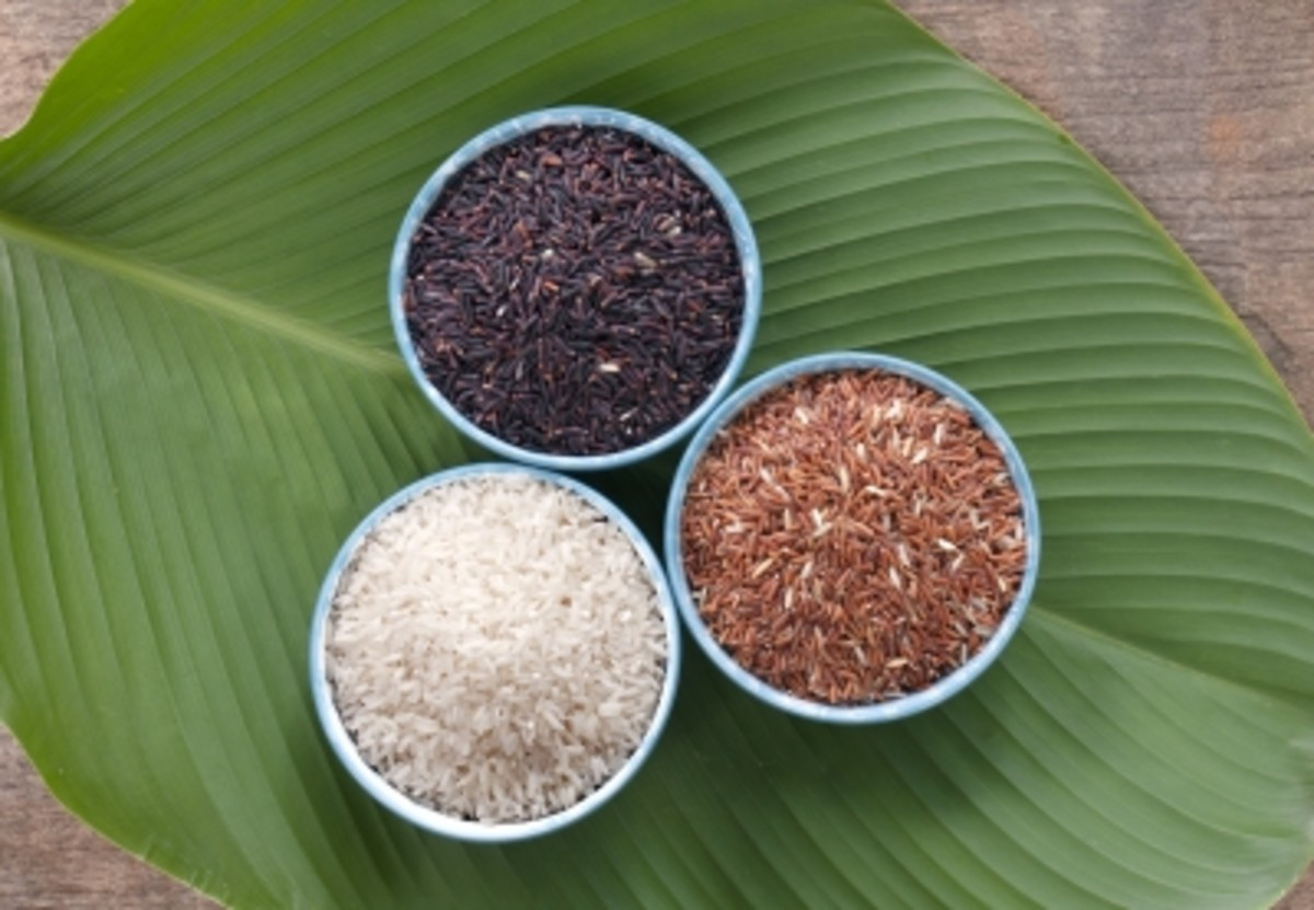 3 Health Benefits of Black Rice