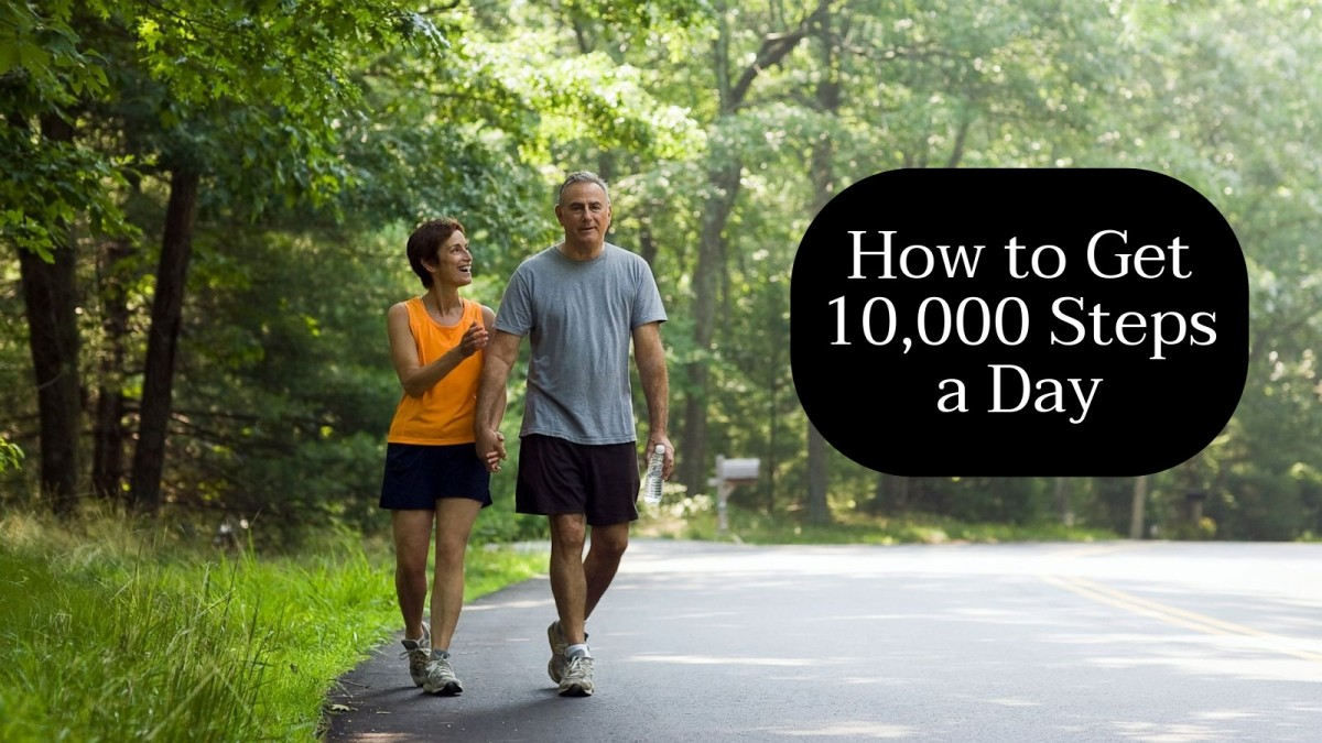 Walking 10,000 steps takes commitment and creativity. You need to plan how you're going to get your steps into your day while also taking on your job, your kids, and all the other activities.