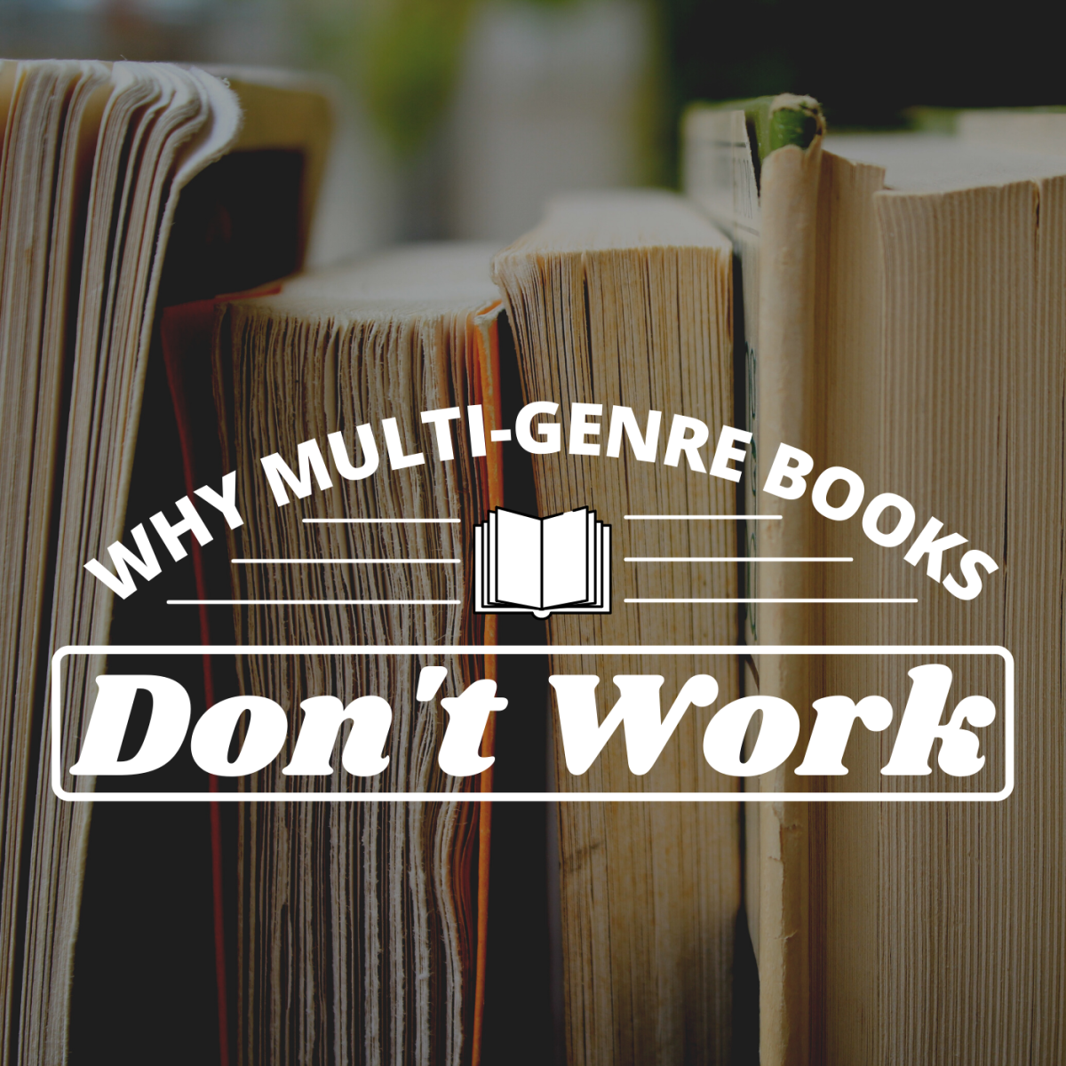 If you're trying to combine two genres, it may be a better idea to simply write two different books.