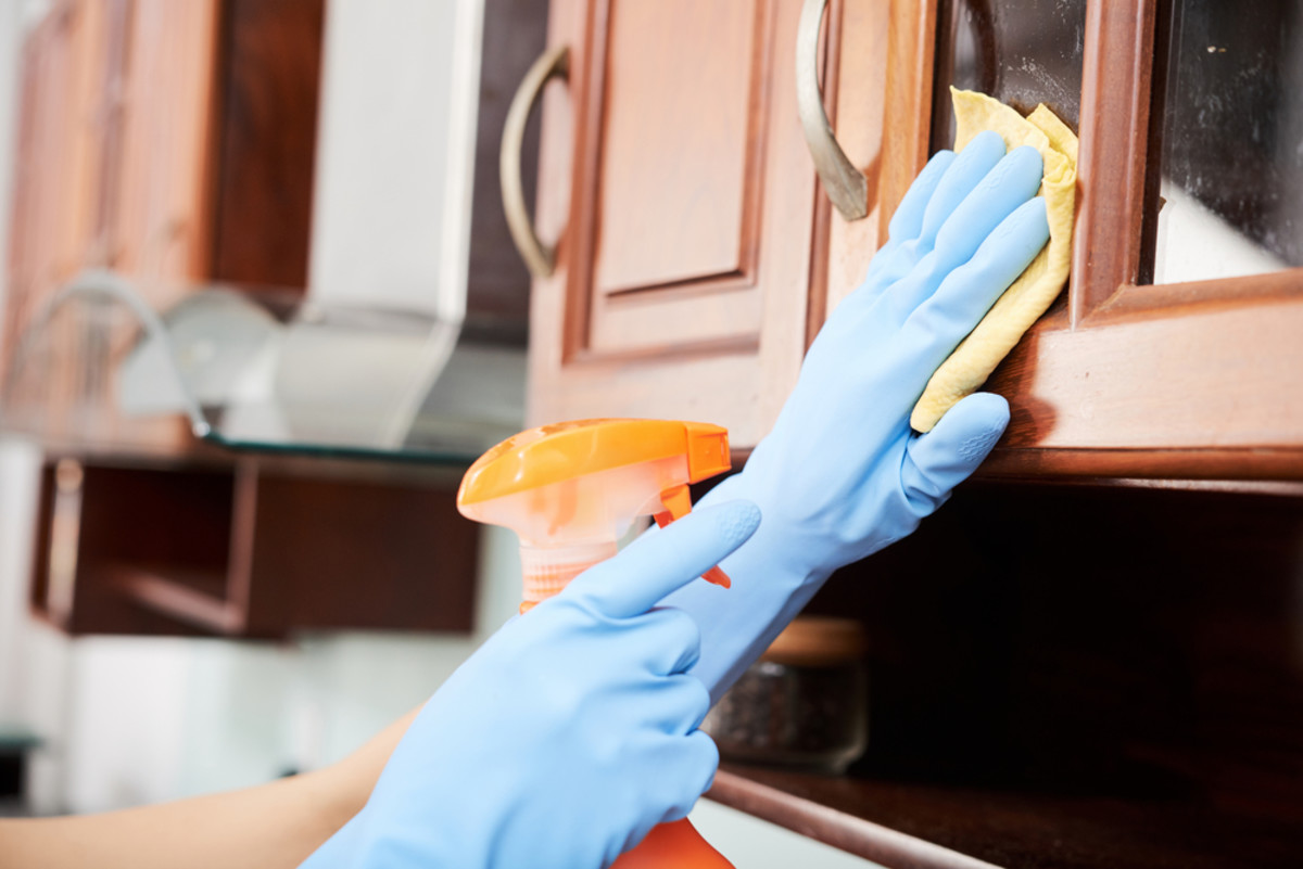 How to Prep your Kitchen Cabinets for Strong Paint Adhesion