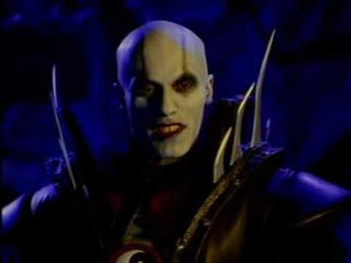 Quan Chi is one of several game characters featured in 'Mortal Kombat: Conquest'.