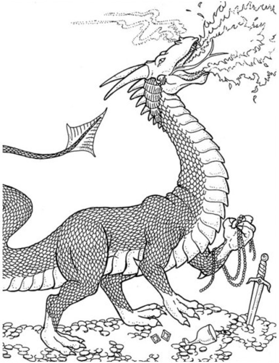 Runescape Monsters Coloring Pages Free Colouring Pictures to Print - Dragon Quest Monster