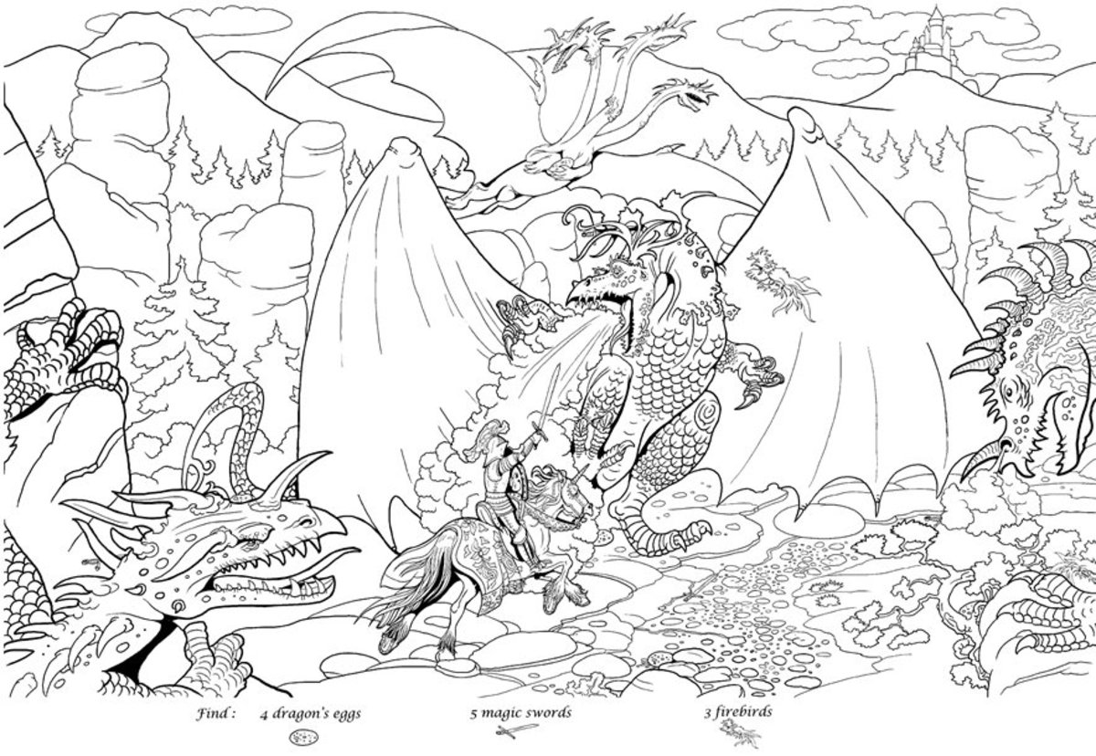 Runescape Monsters Coloring Pages Free Colouring Pictures to Print - Ancient Monster Types