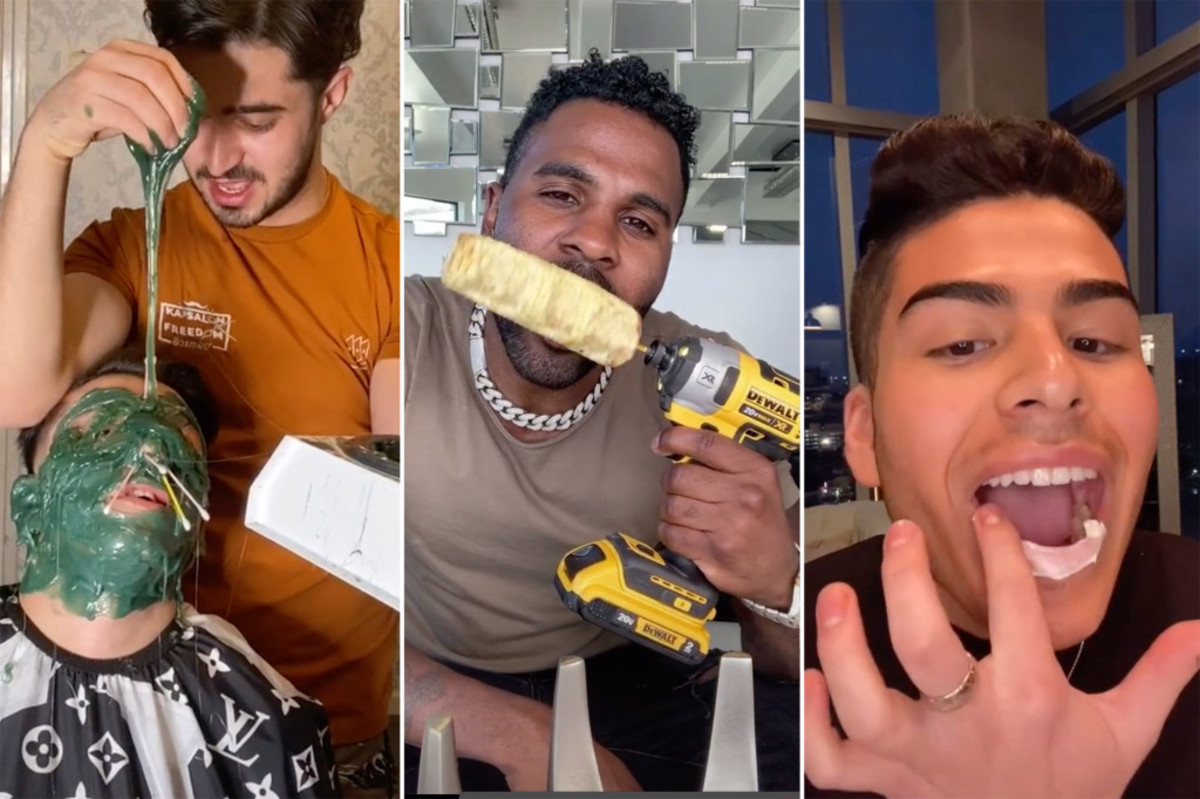 19 of the most craziest tiktok challenges - NY post