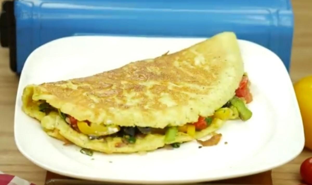 How to Make Mediterranean Omelet Recipe for Breakfast