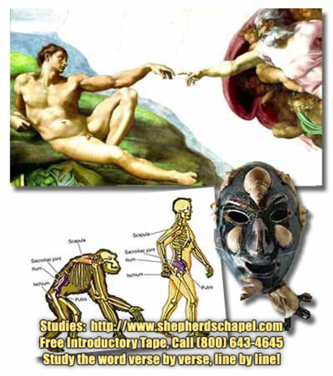 Did God start us from scratch or did he use a humanoid that was already living on earth as the first man on earth as Adam?