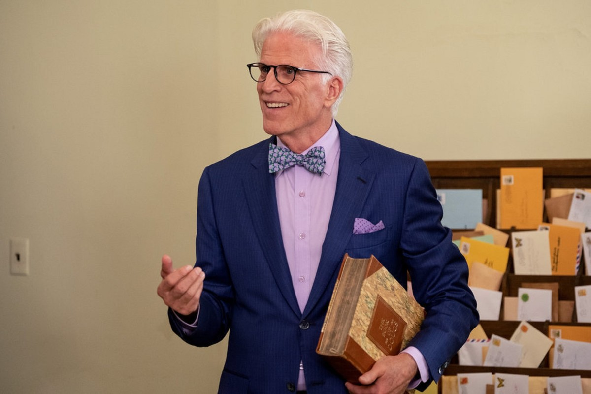 """Ted Danson as Michael in """"The Good Place"""""""