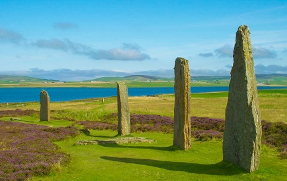 Ring of Brodgar in Orkney. Photo by Flicker user Shadowgate (licensed for free use with credit)