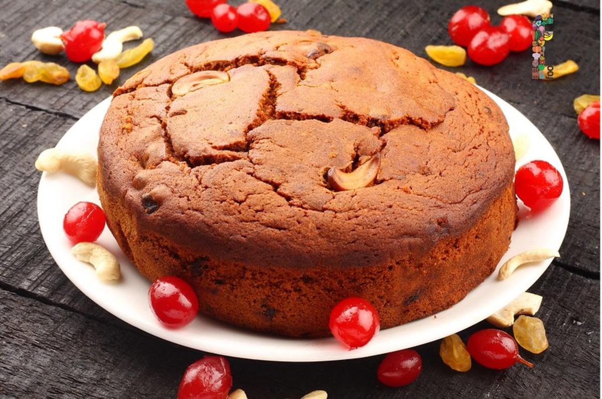 Perfectly Baked Dry Fruit Cake