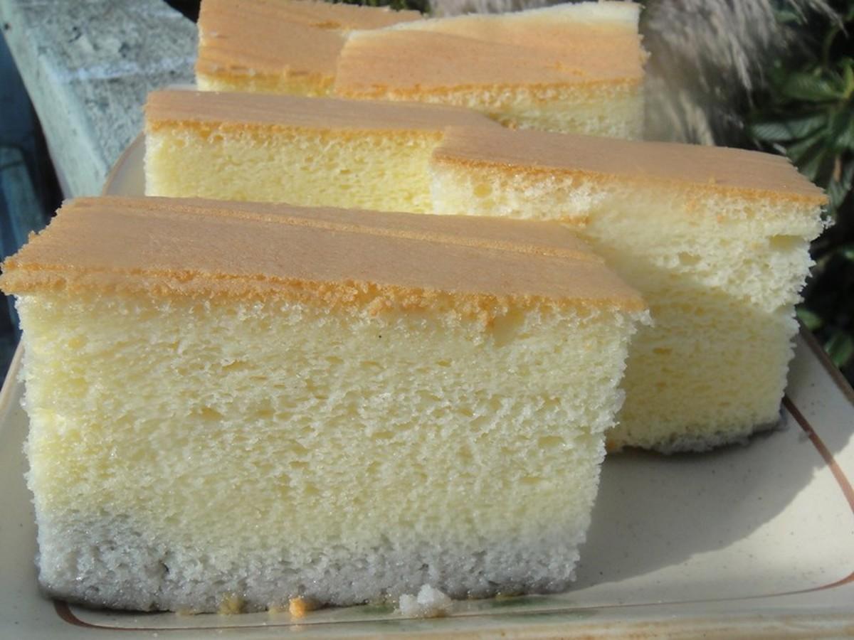 Vanilla Sponge Cake-Homemade