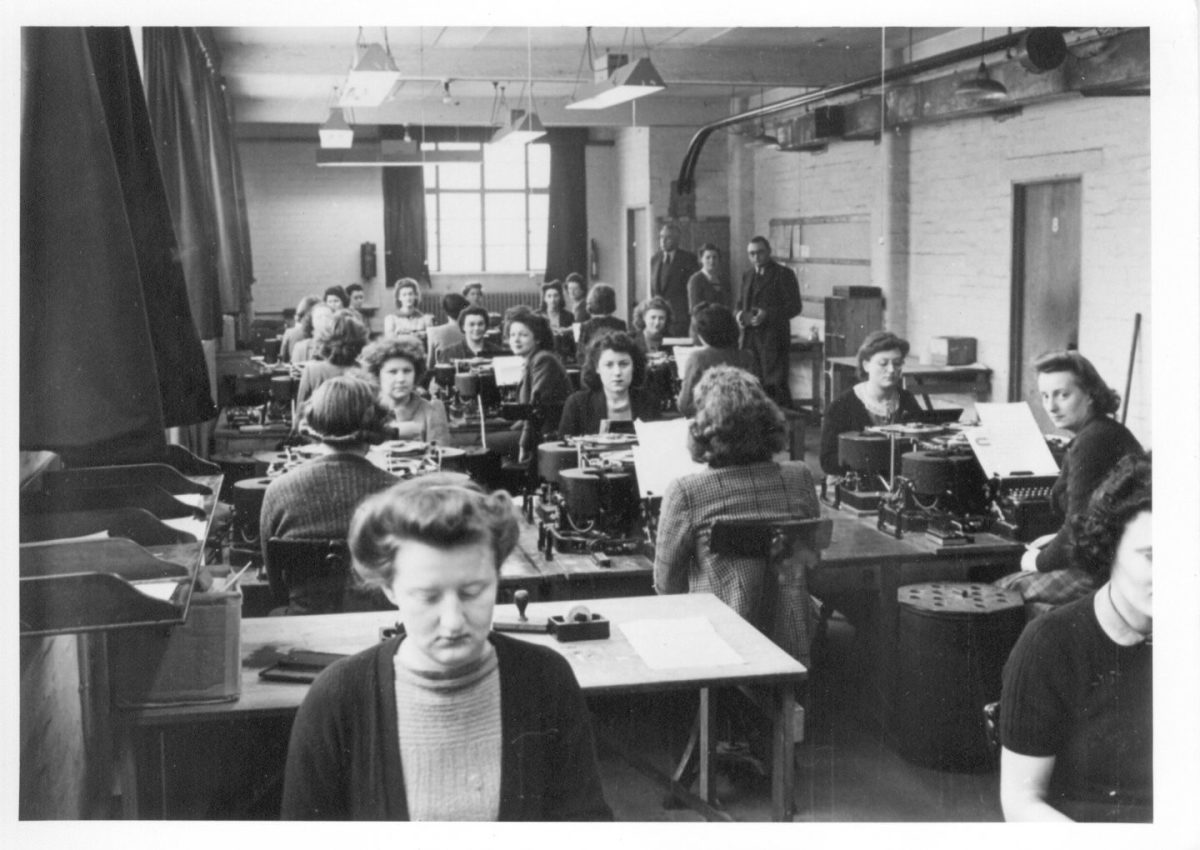 Bletchley Park had 200 code breakers but by the end of 1944, it had more than 9000 people working round the clock.