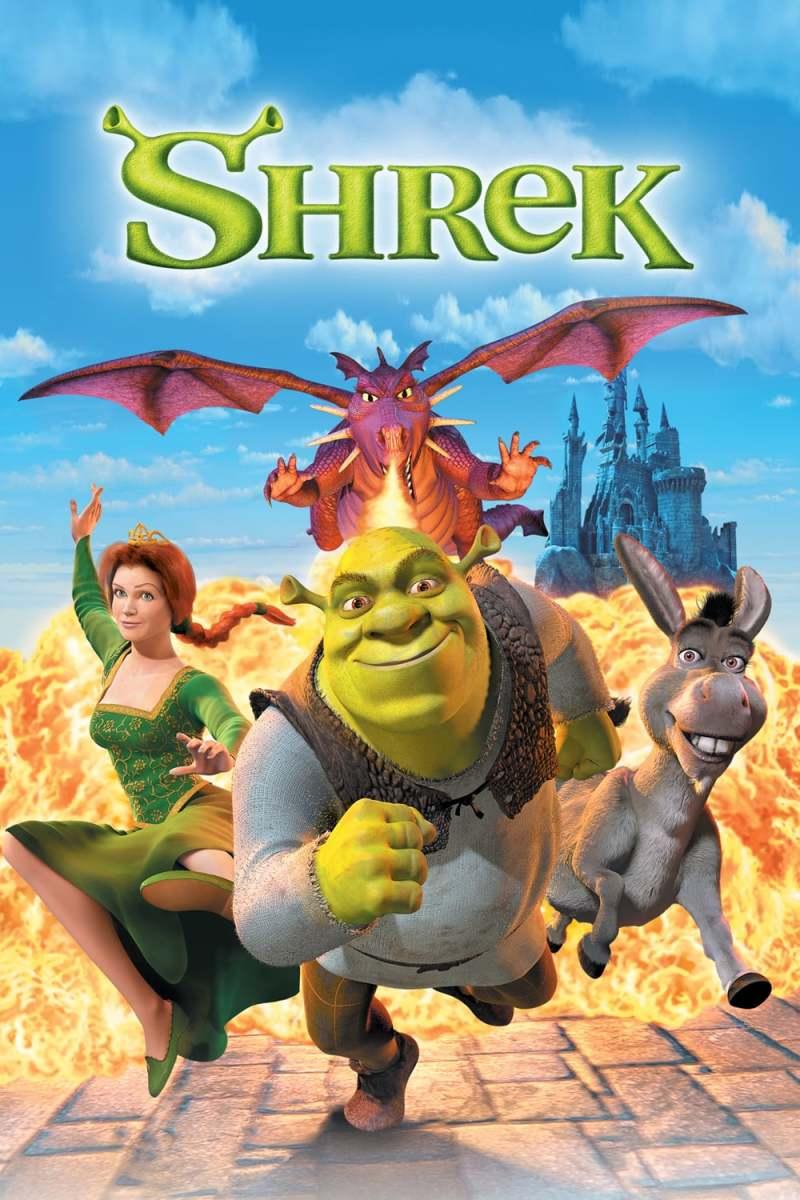 """""""Shrek (2001)"""" Poster"""