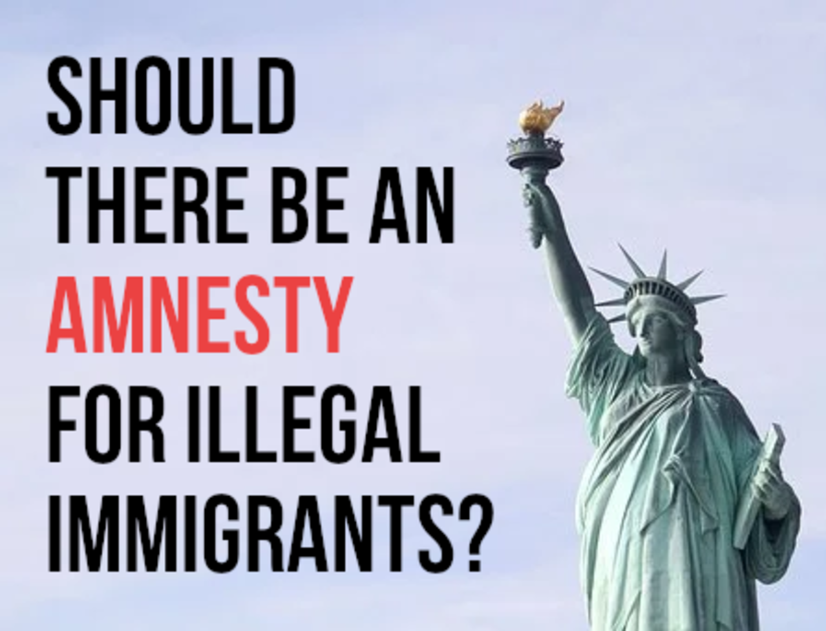 For the main arguments used for and against giving illegal immigrants to the USA an amnesty, please read on...