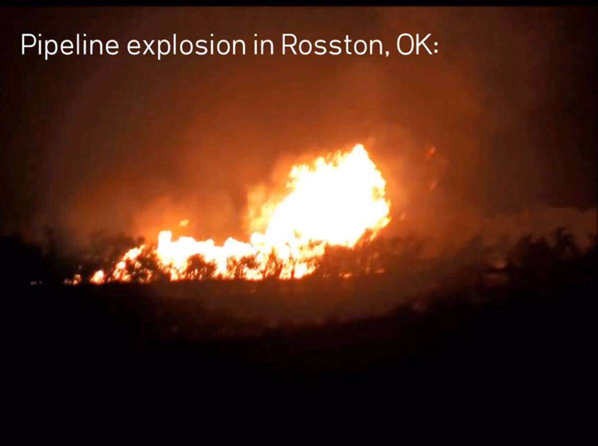 If this pipeline had not exploded and burst into flames, do you think it would have become public knowledge?