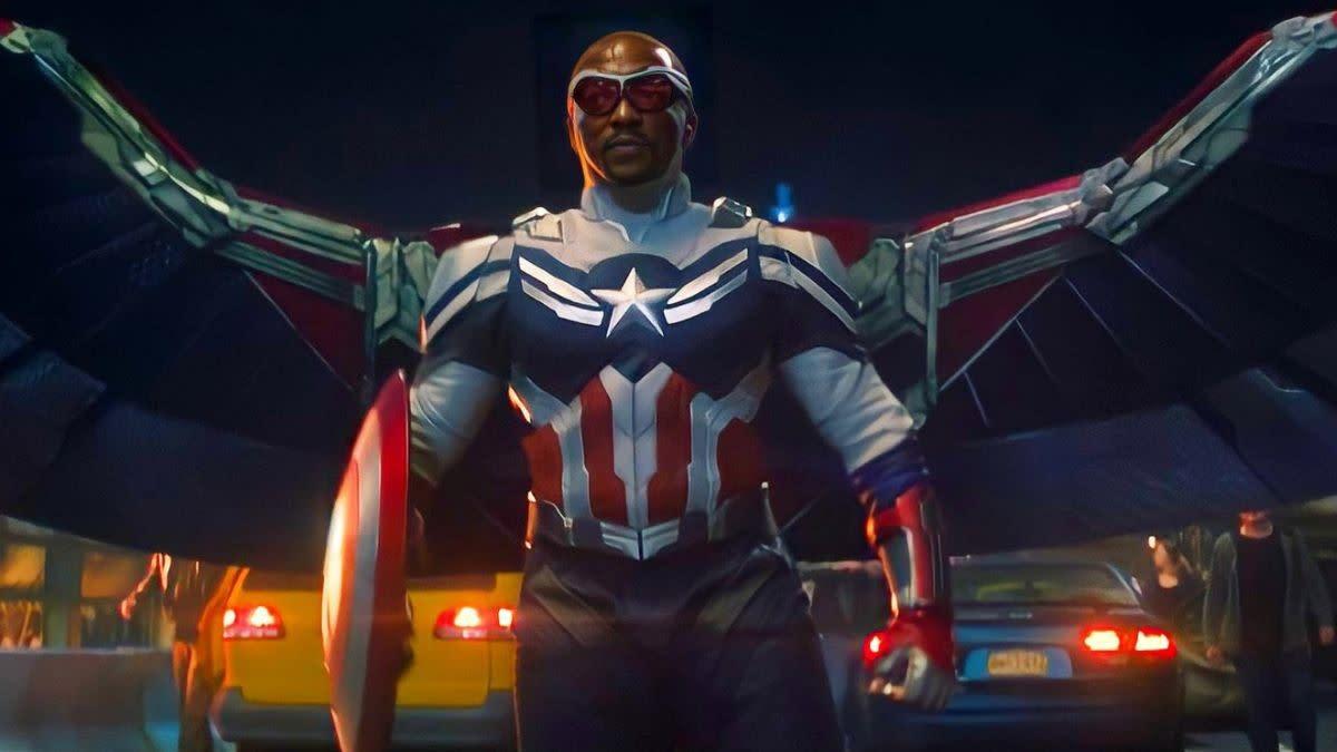 Anthonie Mackie as Captain America