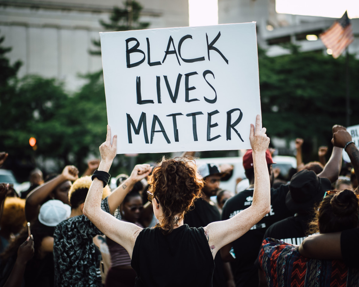 John Lucia - Frame from an unexpected encounter with Saturday's Black Lives Matter march through downtown Baltimore City