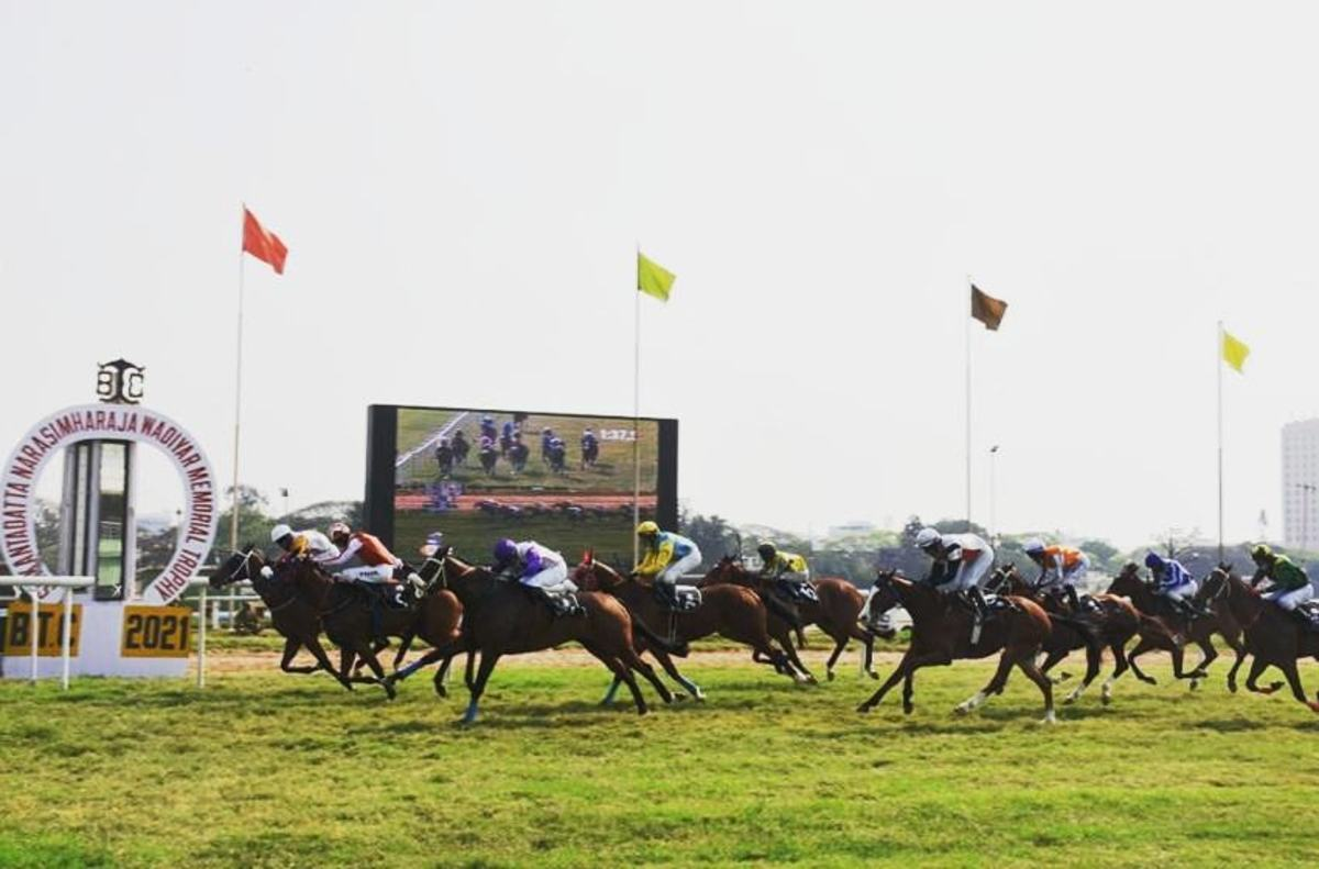Green Channel wins The Gateway of India Plate, a Class 3 race for horses rated 30 to 50, 5 Years old and over with Champion Apprentice Jockey Arul JH up