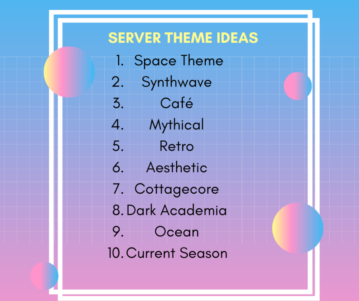 Here are some cool Discord server theme ideas!