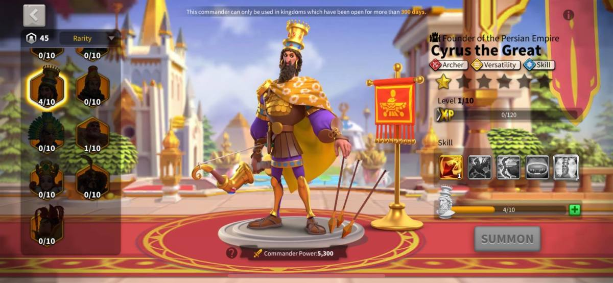 Cyrus the Great Profile Page