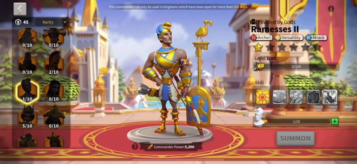 Ramesses II Profile Page