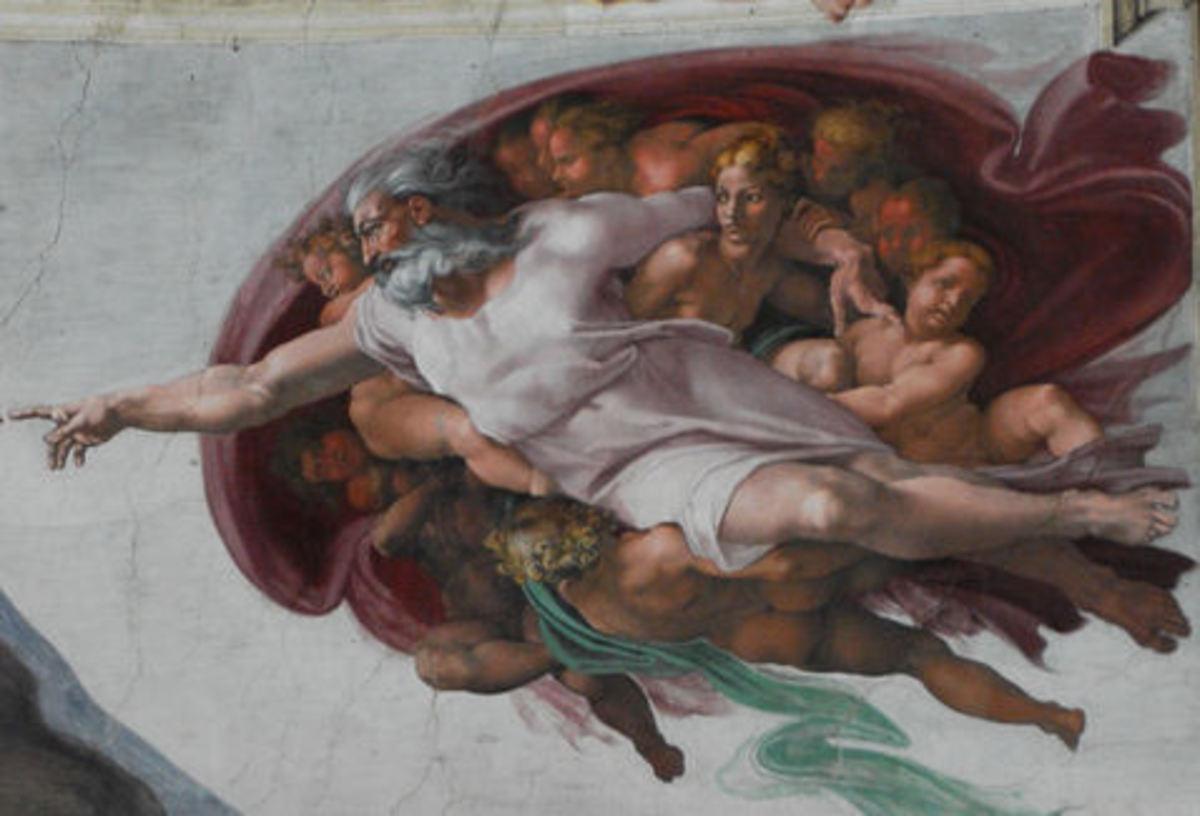 http://en.wikipedia.org/wiki/Sistine_Chapel_ceiling