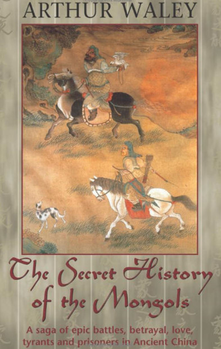 Secret History of the Mongols - Front Cover (Amazon)