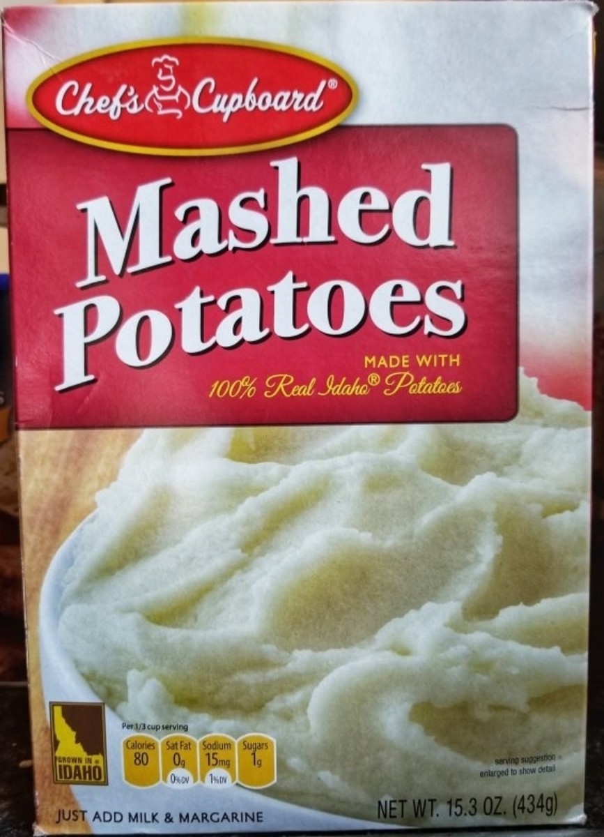 This costs all of $1.39 at my local Aldi, and it's hard to mess up dehydrated potato shavings.