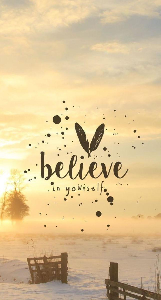 Always Be a Believer