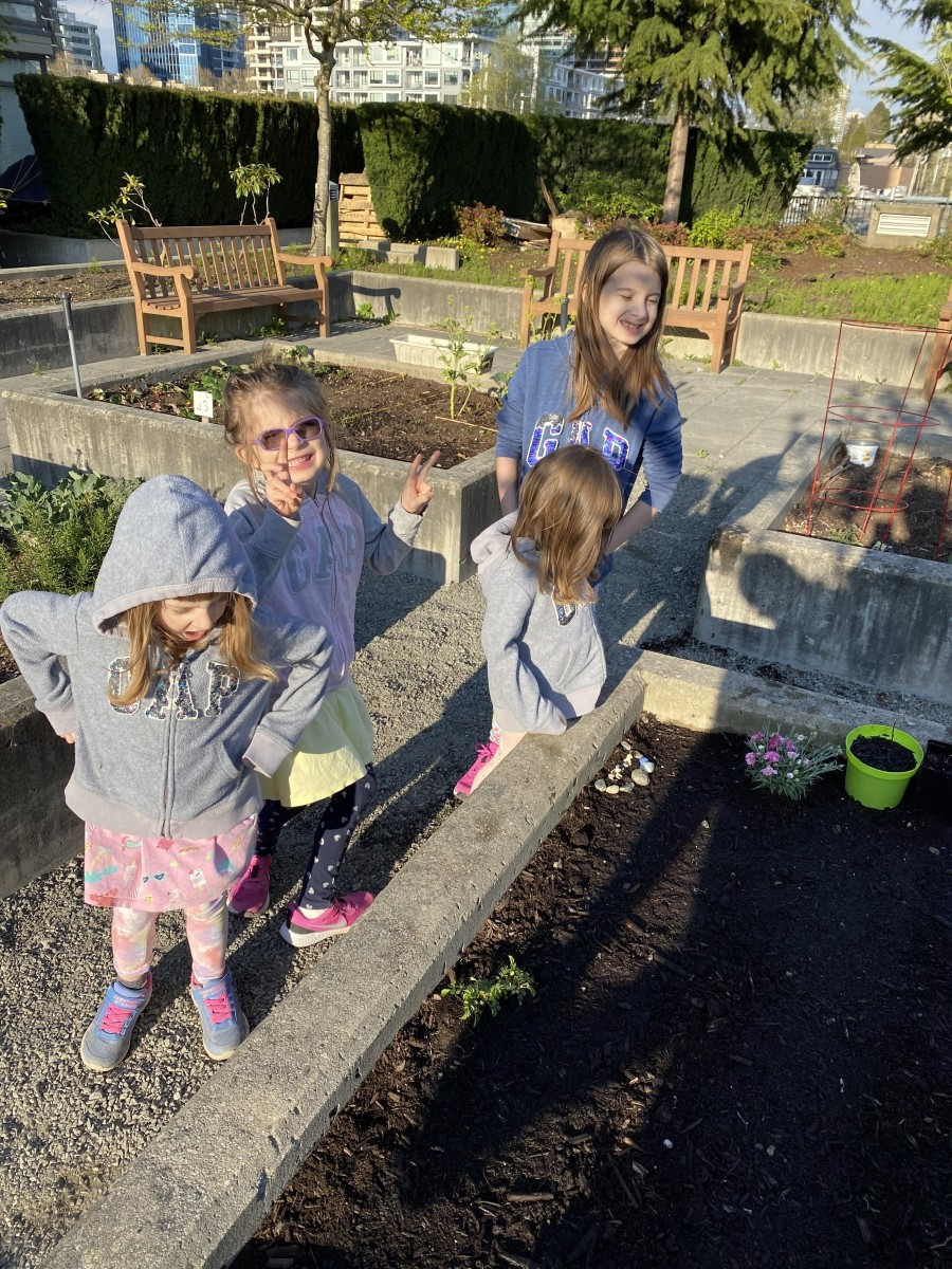 For us, a variety of experiences is important.  Academics is great, but so is unstructured play.  Children learn a lot about sustainability, life cycle, spatial perception and math from gardening.