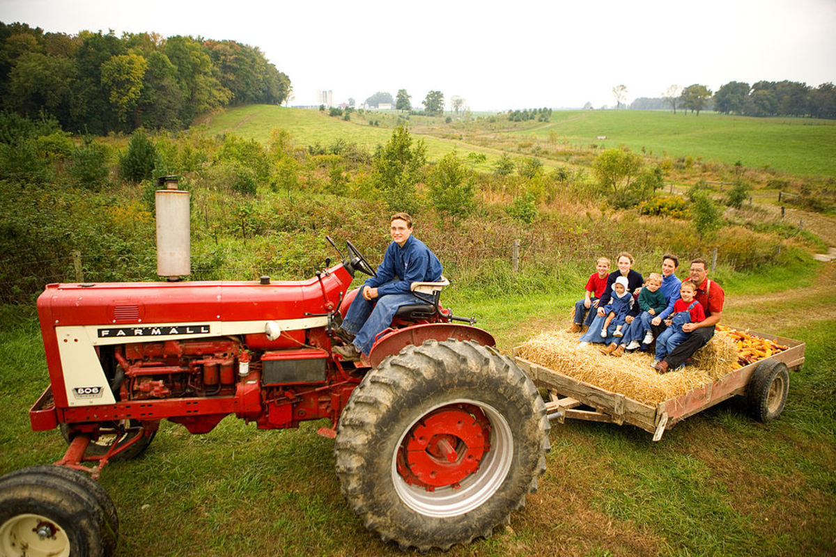 Hayrides can be a family affair, church, or civic event.