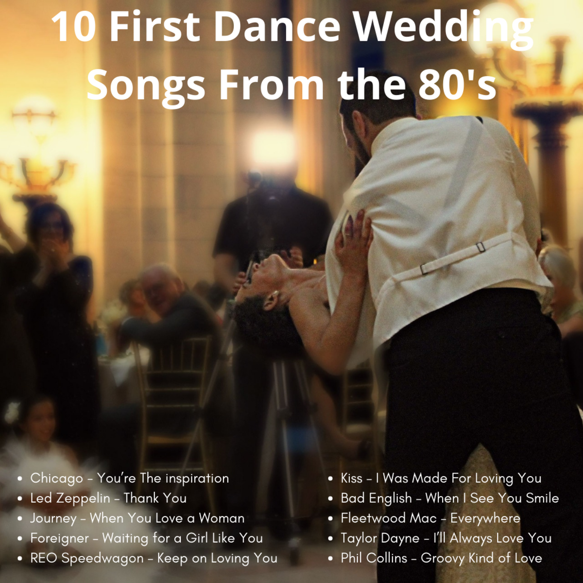80's Wedding songs