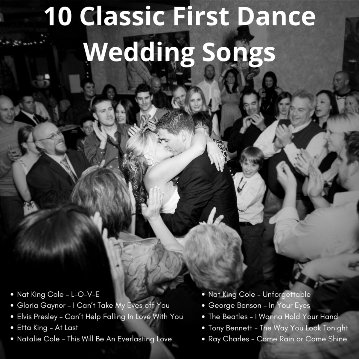 10 Classic First Dance Wedding Songs