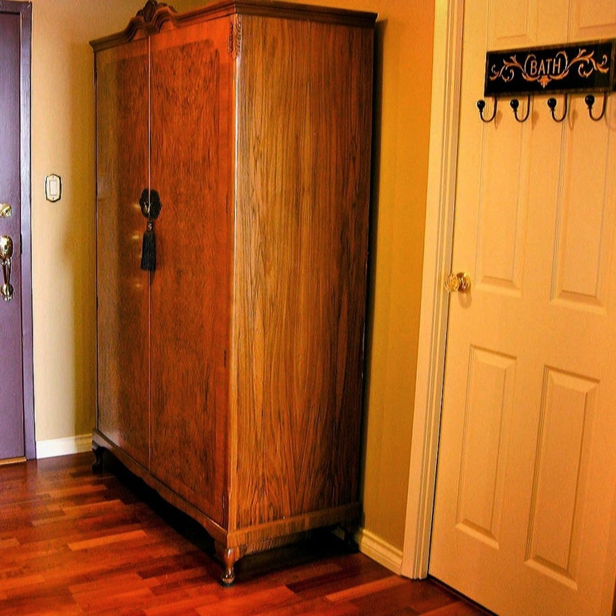 The Versatile Factor. A wardrobe is an incredibly versatile piece of furniture that you can find a use for in practically any home.