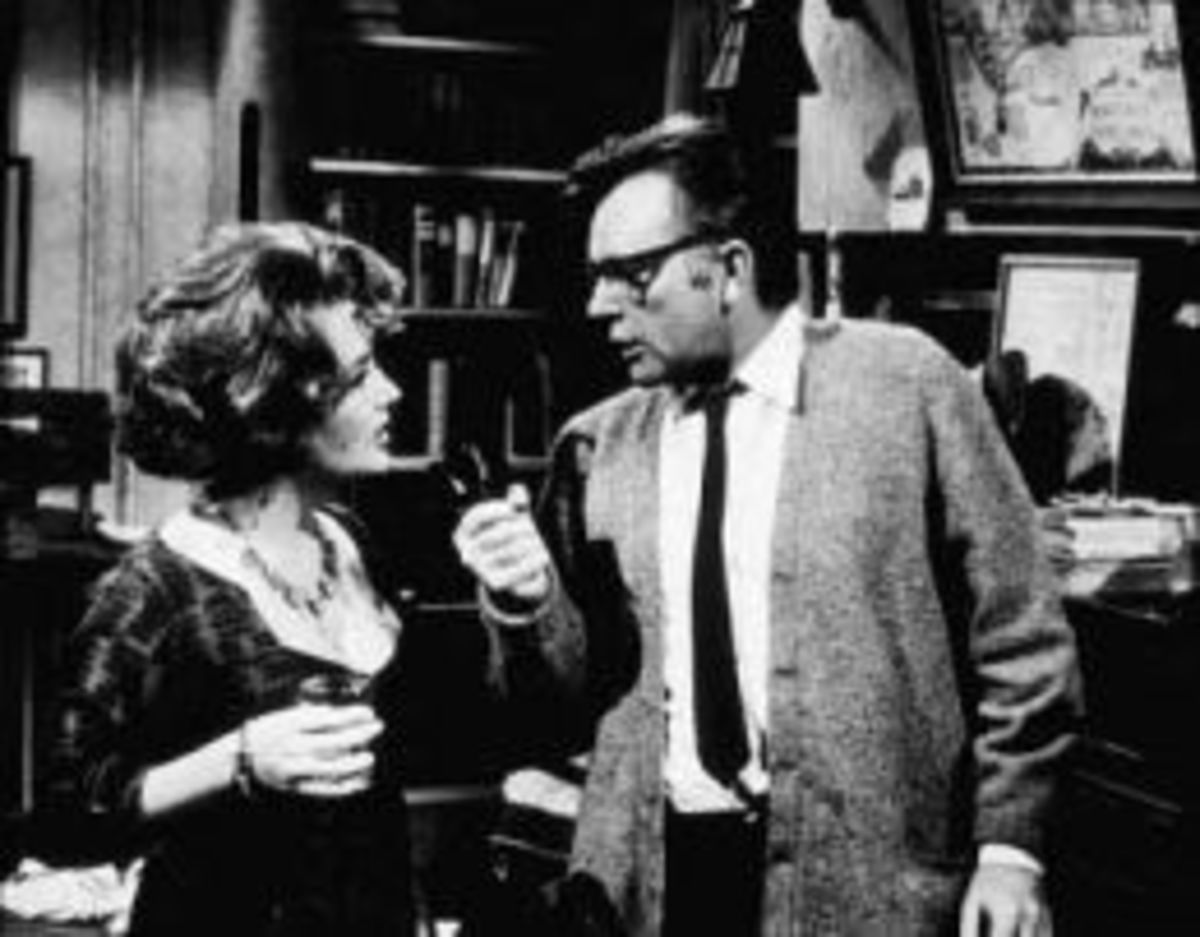 With Burton in 'Who's Afraid of Virginia Woolf?'