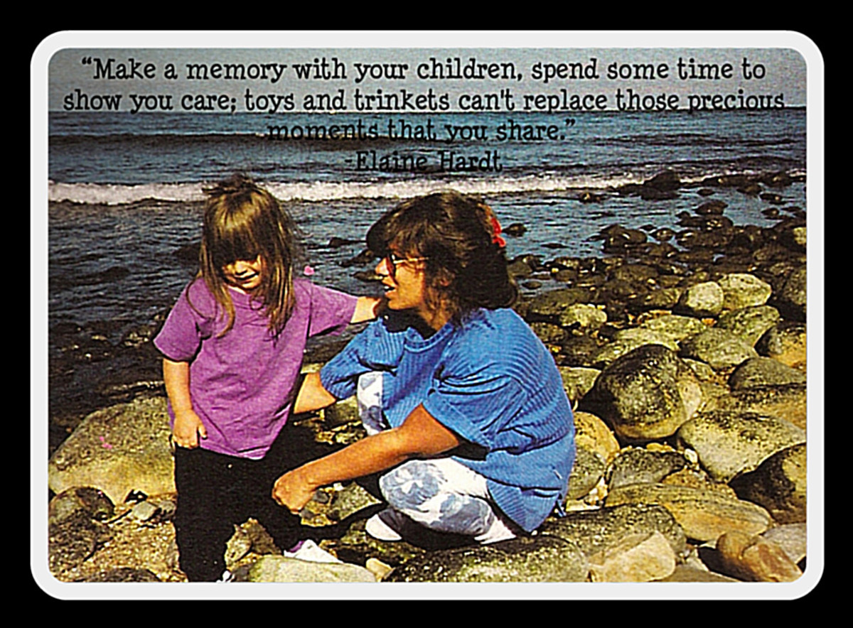 make memories with your children
