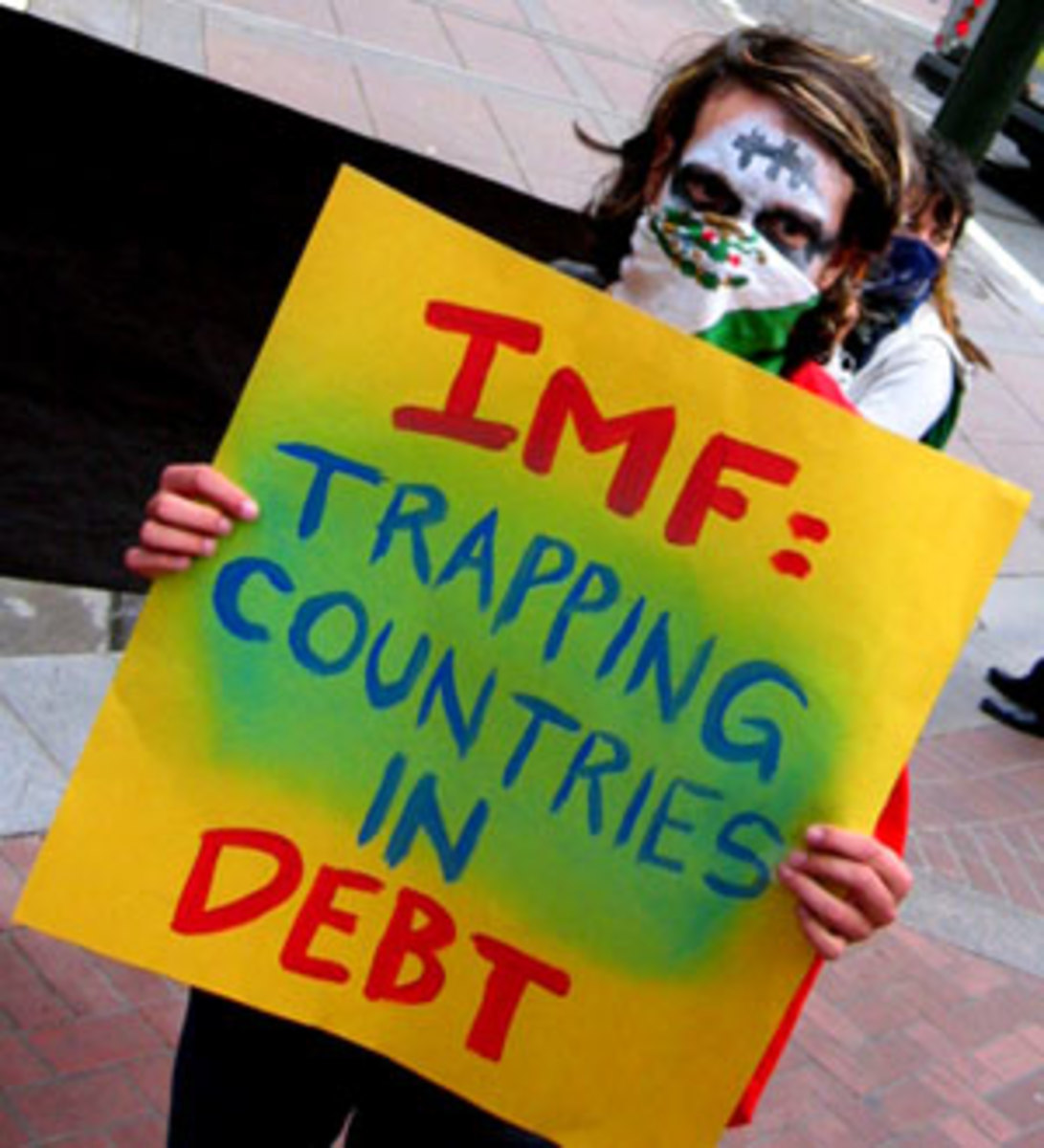 IMF trap countries in debt