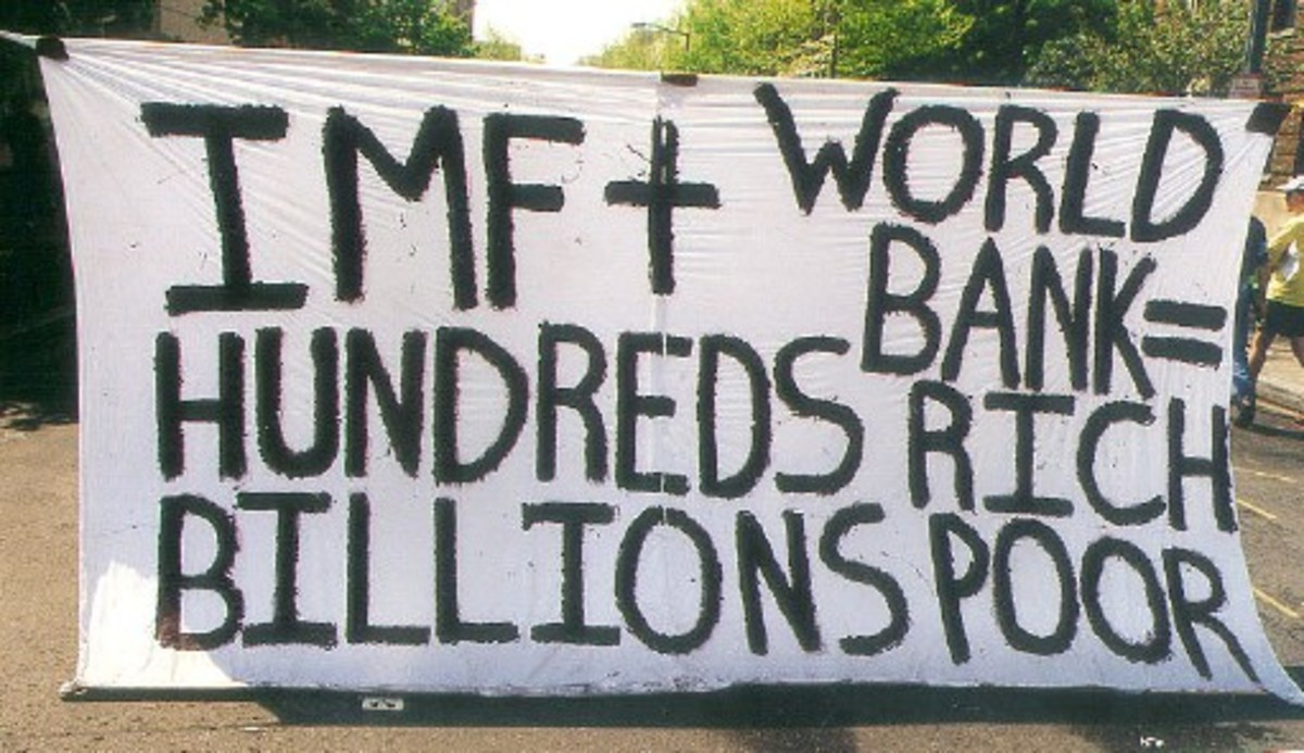 The IMF and World Bank allow a few hundred to get richer while billions become poorer