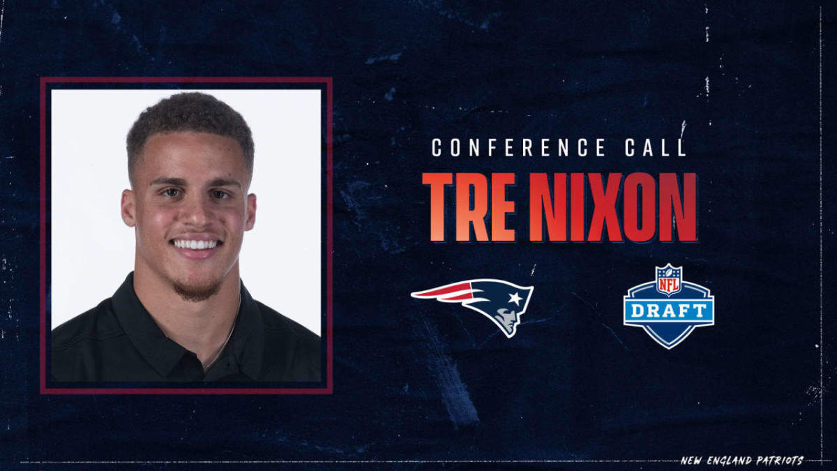 With their last pick in the draft the Pats picks Tre Nixon with the 242nd pick in the 7th round.