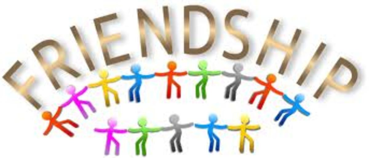 Friendship - public-domain-clipart-image