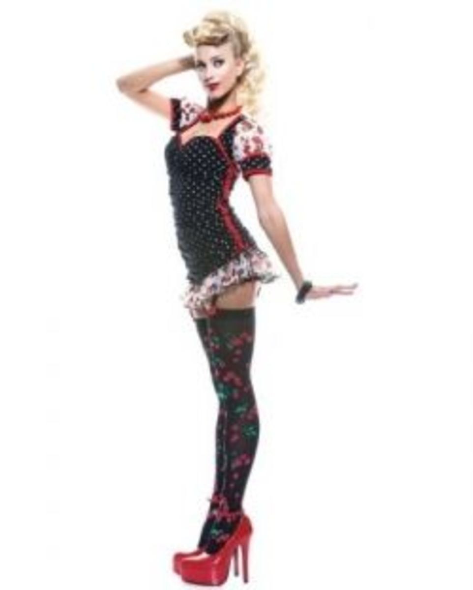 Paper Magic Womens French Kiss Pin-up Girl Costume Available From Amazon