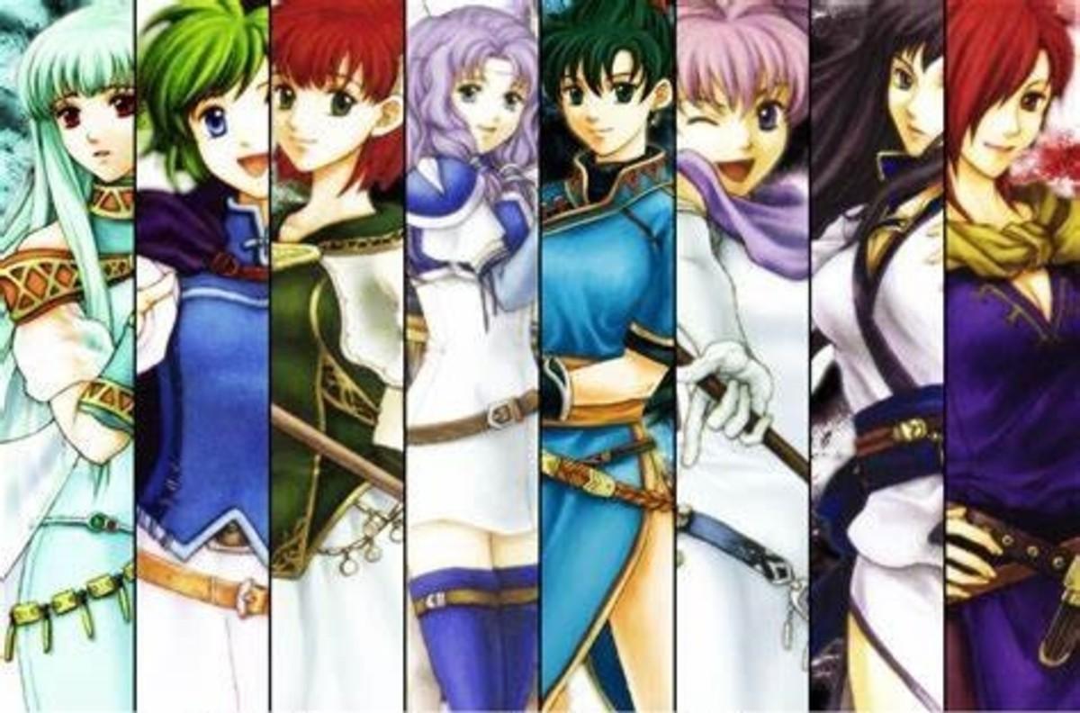Fire Emblem 7 Girls