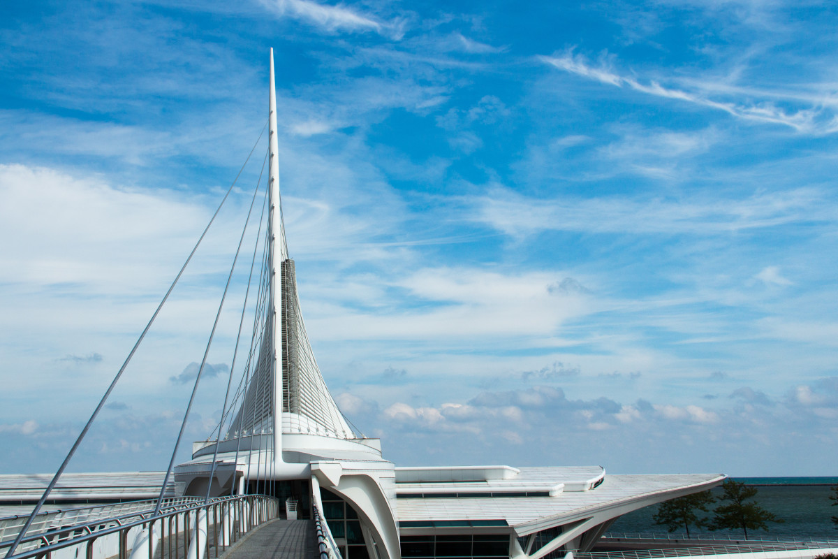 The Milwaukee Art Museum.