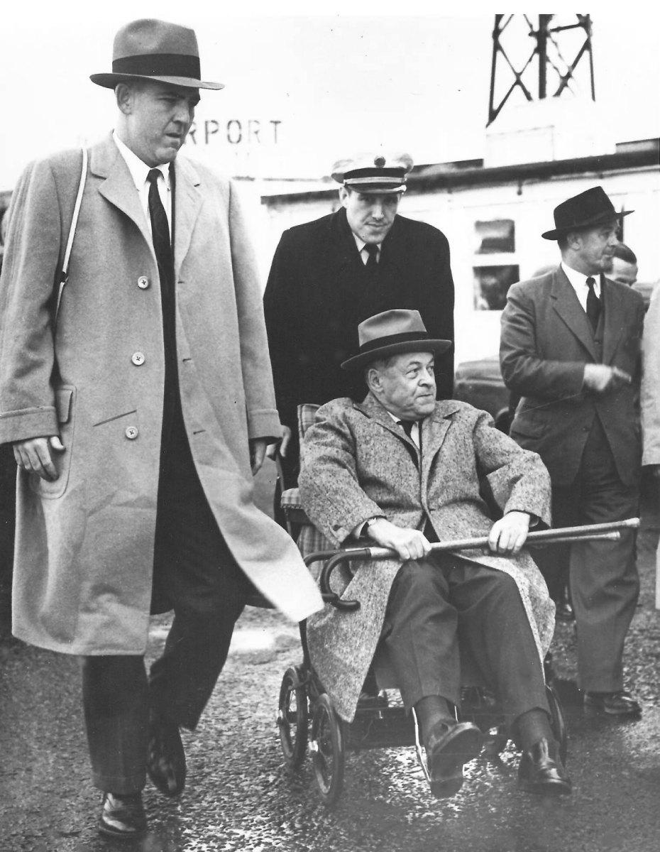 Jones pictured in wheelchair, unknown year.