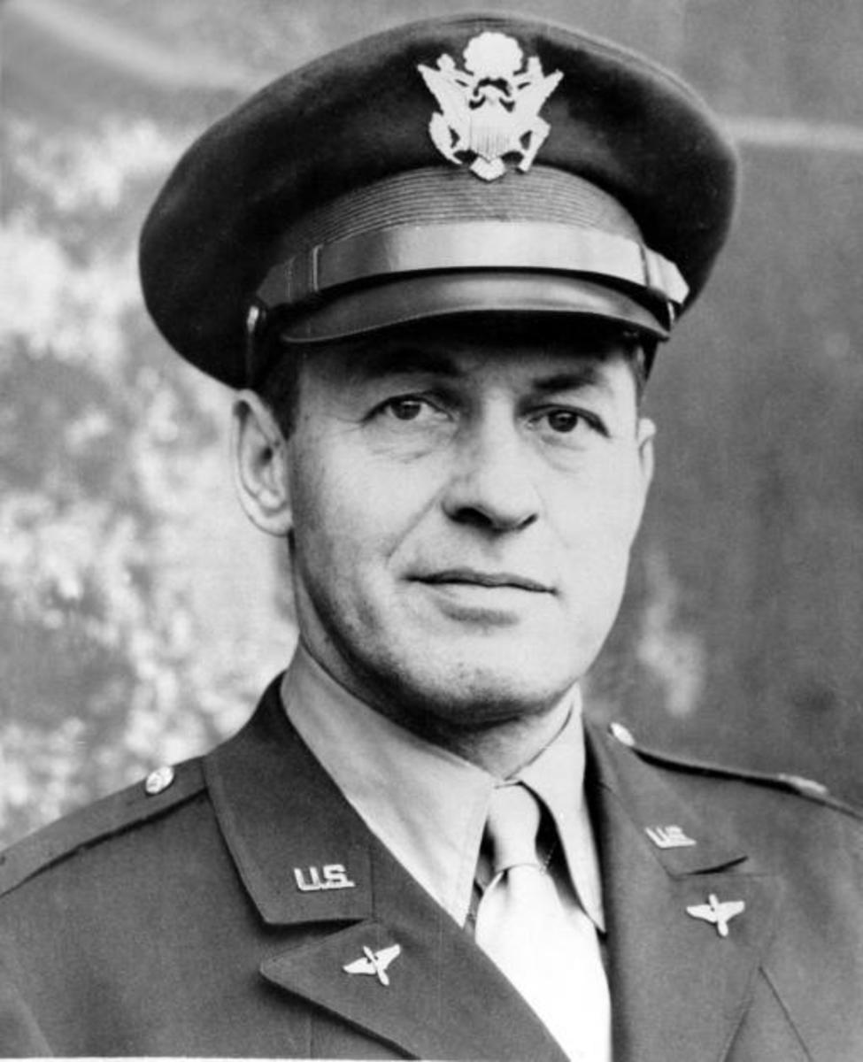 Jones Pictured as a Intelligence Officer During World War II, C.1943-1945