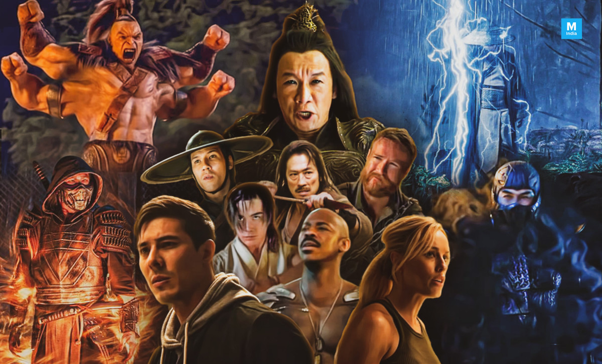 The classic characters of Mortal Kombat!