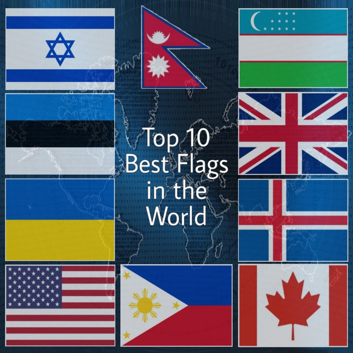 10 Best Designed National Flags in the World