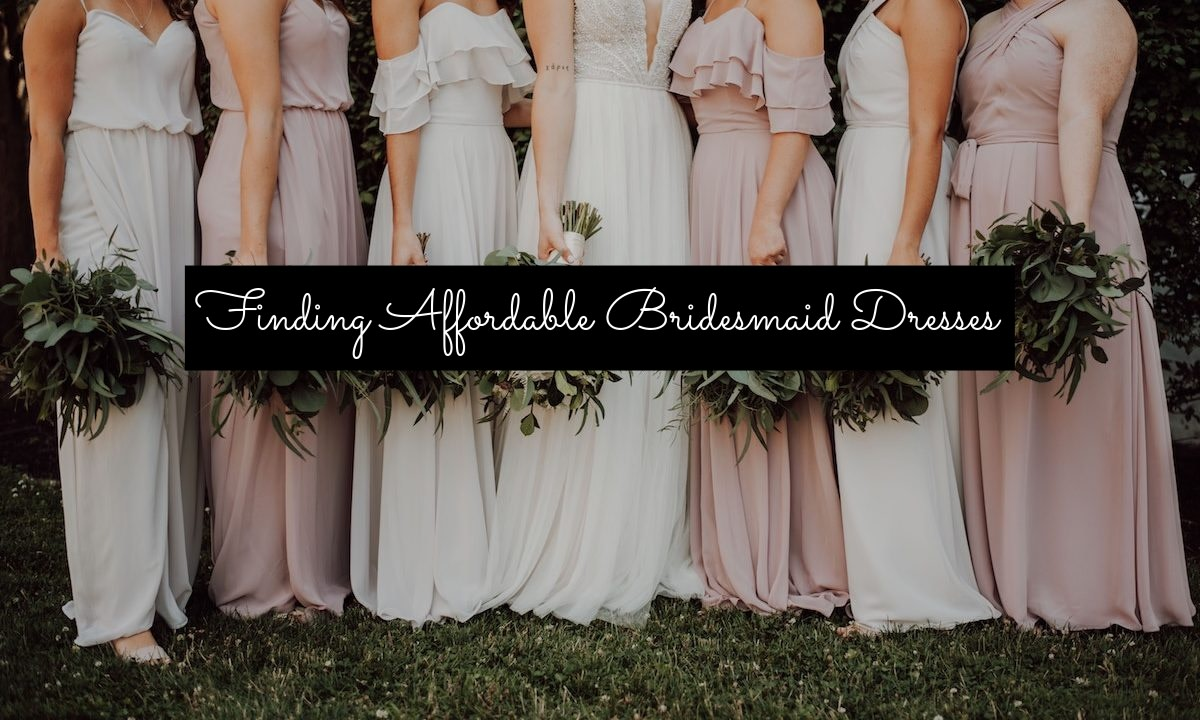 How can you afford multiple bridesmaid dresses if you plan to buy them for your attendants? (1) Limit your bridal party size. You don't need to make all your friends attendants. (2) Shop around and compare prices; Etsy is your best friend.