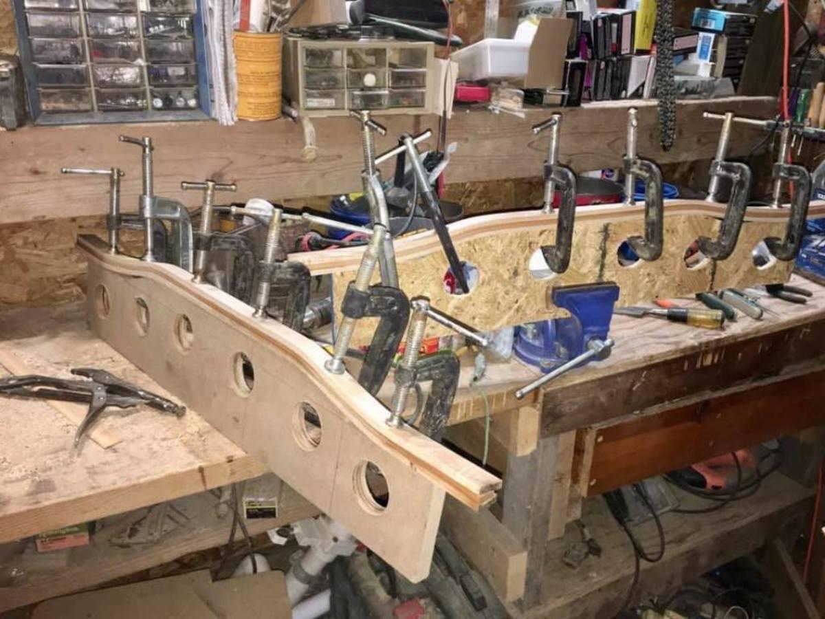 bending seat frames