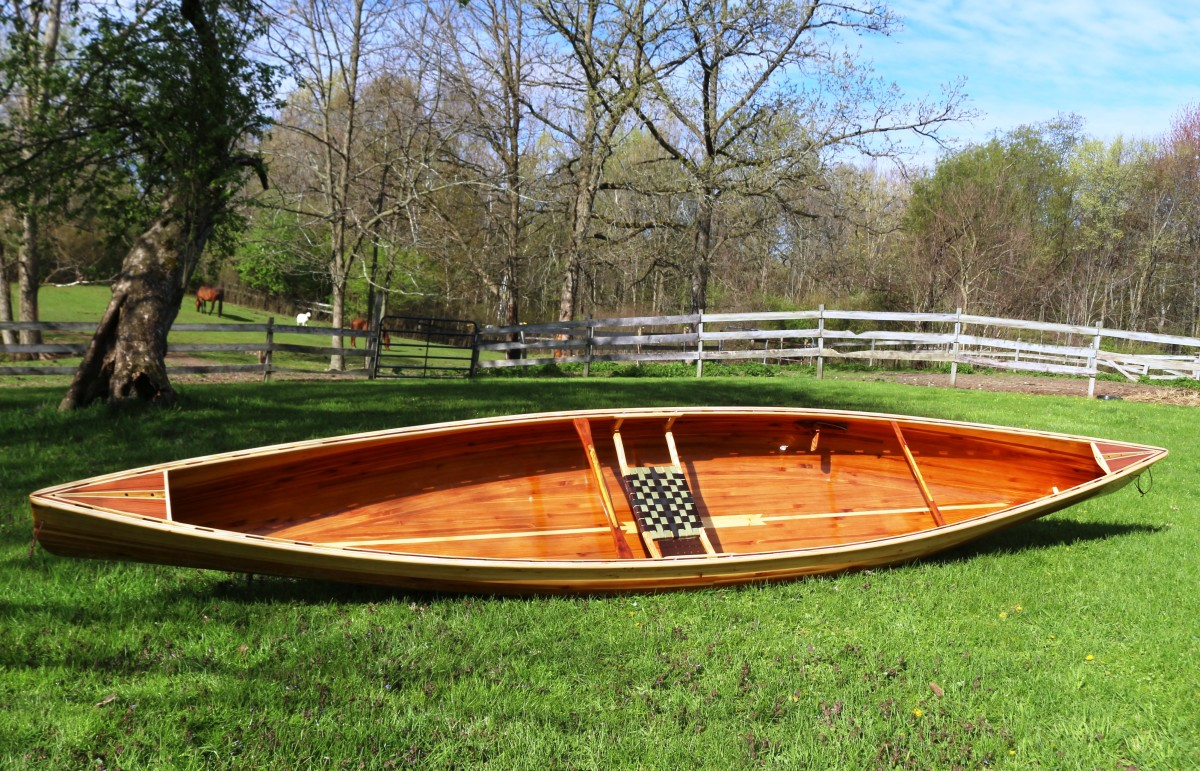Building the Merlin Solo Canoe from Northwest Canoes