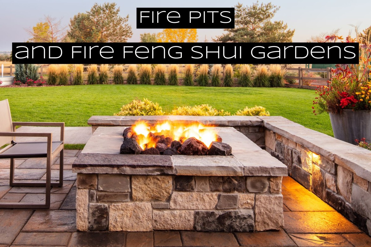 Nothing screams fire feng shui like literal fire. A fire pit is an excellent place for people to gather, enjoy some conversation, and do some stargazing.